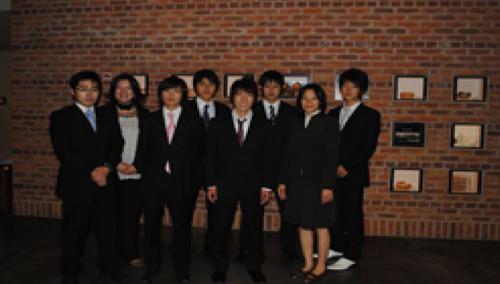 8名のIBTEC参加メンバー